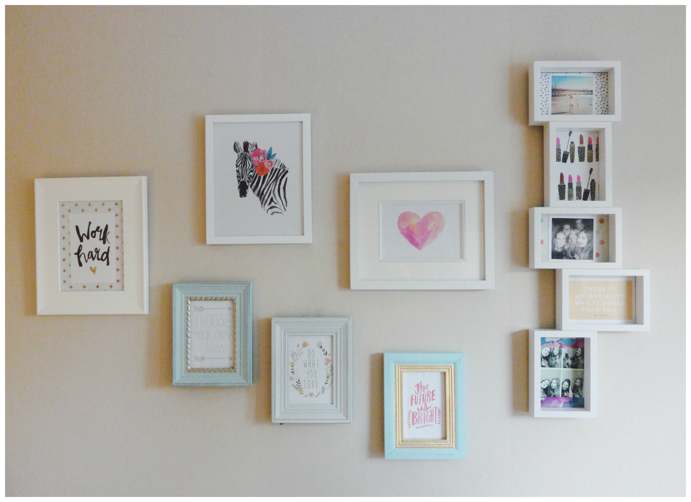Design Your Own Wall Art Writing : Home decor katie charlotte s