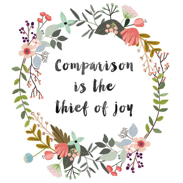 comparison-joy